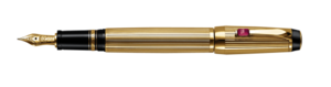 Montblanc placcati in oro Rouge Boheme Pen 05800 [1b14]